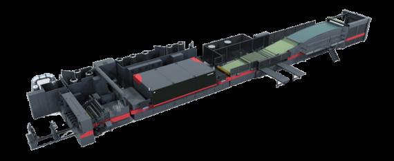The EFI Nozomi C18000 Printer